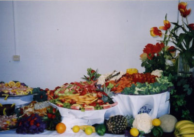 fresh salad buffet