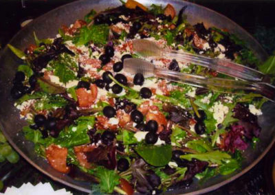salad with olives