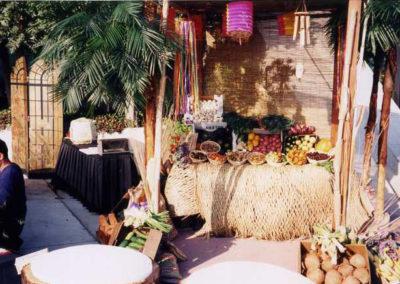 Mexican Fiesta fruit buffet