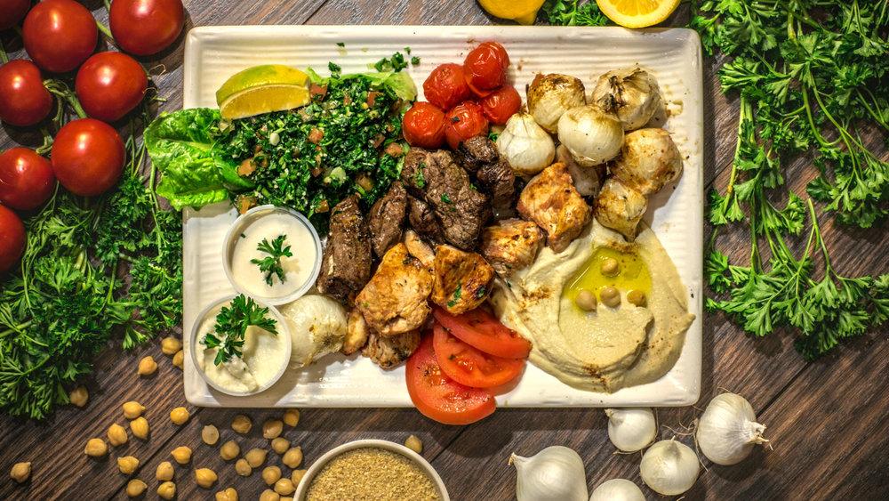 Mediterranean food the healthier option rotisserie for Almanara mediterranean cuisine