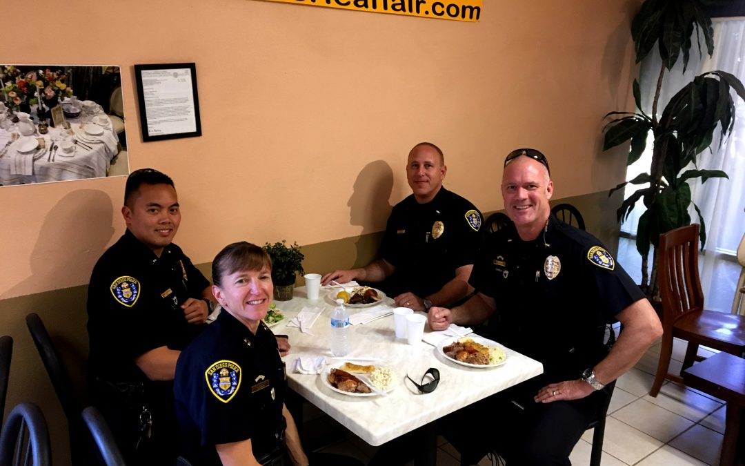 No, the SDPD don't only eat donuts!