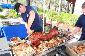 Whole Rotisserie Pig